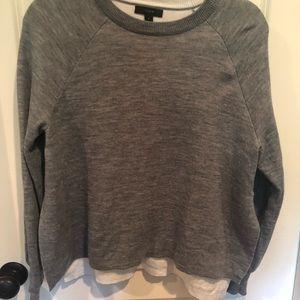 J. Crew side slit sweater small💛